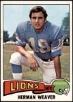 1975 Topps #146  Herman Weaver  Front Thumbnail
