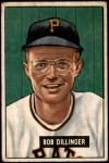 1951 Bowman #63  Bob Dillinger  Front Thumbnail