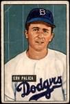 1951 Bowman #189  Erv Palica  Front Thumbnail