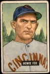 1951 Bowman #180  Howard Fox  Front Thumbnail