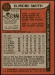 1979 Topps #117  Elmore Smith  Back Thumbnail