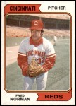 1974 Topps #581  Fred Norman  Front Thumbnail