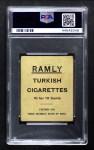 1909 T204 Ramly  Mike Donlin  Back Thumbnail