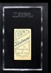 1909 T206 FLD Kid Elberfeld  Back Thumbnail