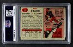 1957 Topps #119  Bart Starr  Back Thumbnail