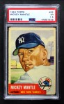 1953 Topps #82  Mickey Mantle  Front Thumbnail