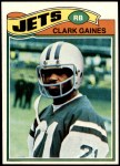 1977 Topps #306  Clark Gaines  Front Thumbnail