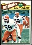 1977 Topps #304  Don Cockroft  Front Thumbnail