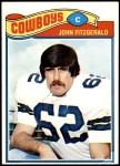 1977 Topps #447  John Fitzgerald  Front Thumbnail