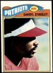 1977 Topps #479  Darryl Stingley  Front Thumbnail