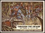 1962 Topps Civil War News #73   Through the Swamp Front Thumbnail