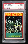 1972 Topps #257   -  L.C. Greenwood Pro Action Front Thumbnail