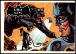 1966 Topps Batman Black Bat #34   Deadly Claws Front Thumbnail