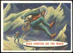1958 Topps Target Moon #37   High Jumping on the Moon Front Thumbnail