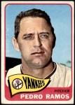 1965 Topps #13  Pedro Ramos  Front Thumbnail