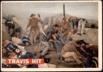 1956 Topps Davy Crockett Orange Back #75   Travis Hit  Front Thumbnail