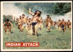 1956 Topps Davy Crockett Orange Back #14   Indian Attack  Front Thumbnail