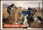 1956 Topps Davy Crockett Orange Back #71   Fists Against Guns  Front Thumbnail