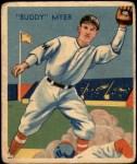 1935 Diamond Stars #4  Buddy Myer   Front Thumbnail