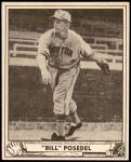 1940 Play Ball #58  Bill Posedel  Front Thumbnail