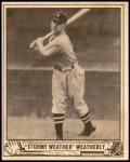 1940 Play Ball #49  Roy Weatherly  Front Thumbnail