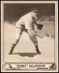 1940 Play Ball #198  Dennis Galehouse  Front Thumbnail