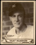 1940 Play Ball #123  George Hildebrand  Front Thumbnail