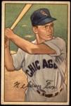 1952 Bowman #21  Nellie Fox  Front Thumbnail