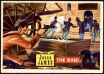 1956 Topps Round Up #53   -  Jesse James  The Raid Front Thumbnail