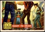 1956 Topps Round Up #6   -  Wild Bill Hickok  Ready to Draw Front Thumbnail