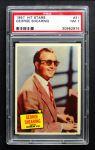 1957 Topps Hit Stars #31  George Shearing  Front Thumbnail