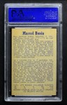 1957 Parkhurst #18  Marcel Bonin  Back Thumbnail