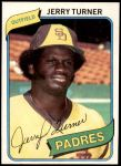 1980 Topps #133  Jerry Turner  Front Thumbnail