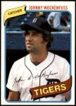 1980 Topps #338  John Wockenfuss  Front Thumbnail