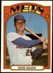 1972 Topps #269  Don Hahn  Front Thumbnail