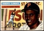 1956 Topps #33  Roberto Clemente  Front Thumbnail