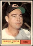 1961 Topps #155  Johnny Temple  Front Thumbnail