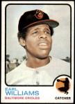 1973 Topps #504 xGAP Earl Williams  Front Thumbnail