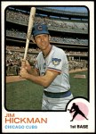 1973 Topps #565  Jim Hickman  Front Thumbnail