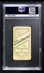 1909 T206  Oscar Stanage  Back Thumbnail