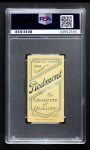 1909 T206 POR Ed Killian  Back Thumbnail