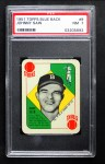 1951 Topps Blue Back #9  Johnny Sain  Front Thumbnail
