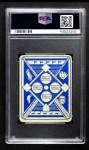 1951 Topps Blue Back #33  Don Lenhardt      Back Thumbnail