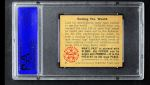 1950 Bowman Wild Man #9   Seeing the World Back Thumbnail