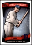 2010 Topps Peak Performance #50 PP  -  Ty Cobb Peak Performance Front Thumbnail