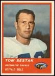 1963 Fleer #33  Tom Sestak  Front Thumbnail