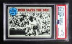 1970 Topps #197   -  Nolan Ryan / Wayne Garrett 1969 NL Playoff - Game 3 - Ryan Saves the Day Front Thumbnail