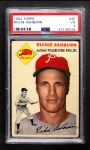1954 Topps #45 WHT Richie Ashburn  Front Thumbnail