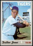 1970 Topps #682  Dalton Jones  Front Thumbnail