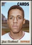 1970 Topps #675  Jose Cardenal  Front Thumbnail